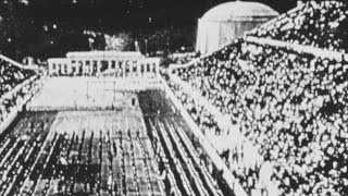 Download Very early film of The Olympics - ″Athens 1896″ Video