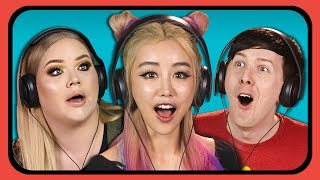 Download YOUTUBERS REACT TO ODDLY SATISFYING COMPILATION #2 Video