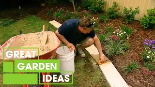 Download How To Make Great Garden Edging | Gardening | Great Home Ideas Video