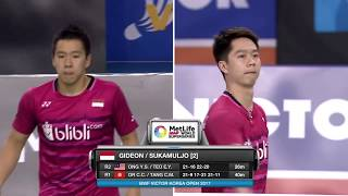 Download Victor Korea Open 2017 | Badminton QF M4-MD | Liu/Zhang vs Gid/Suk Video