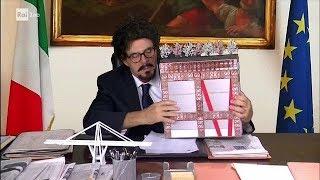 Download Maurizio Crozza nei panni del ministro Danilo Toninelli - Che fuori tempo che fa 24/09/2018 Video