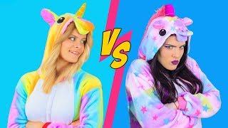 Download Good Unicorn Makeup vs Bad Unicorn Makeup Challenge / 8 DIY Amazing Unicorn Makeup Ideas Video