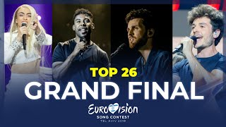 Download Eurovision 2019🇮🇱: TOP 26 - GRAND FINAL Video