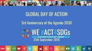 Download Launch Webinar Global Day to #ACT4SDGs Video