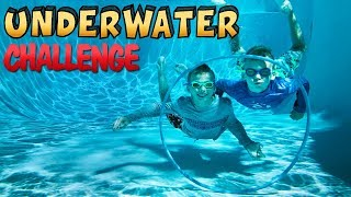 Download Twins Underwater Challenge - Don't Choose the Wrong Hoop! Video