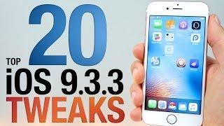Download Top 20 iOS 9.3.3 Cydia Tweaks! Pangu Jailbreak Compatible Video