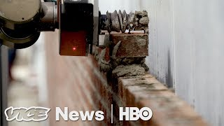 Download This Bricklaying Robot Can Build Walls Faster Than Humans (HBO) Video