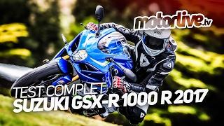Download Suzuki GSX-R 1000 R 2017   TEST COMPLET Video
