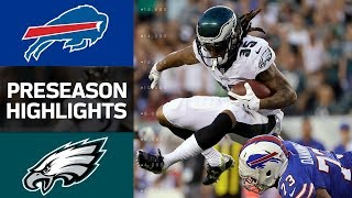 Download Bills vs. Eagles | NFL Preseason Week 2 Game Highlights Video