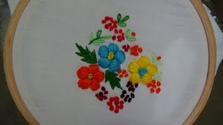 Download Hand Embroidery: Padded Satin Stitch Video