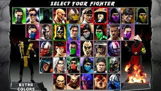 Download Mortal Kombat Quadrilogy v1.02 BETA by Halil Scorpion with download link Video