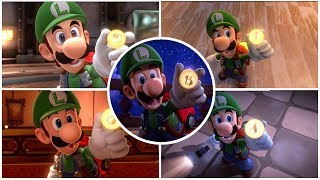 Download Luigi's Mansion 3 - All Floor Buttons Cutscenes Movie Video