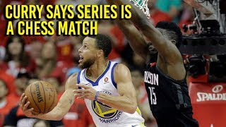Download NBA Playoffs: Curry says series will be chess match Video