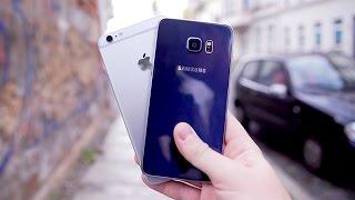 Download iPhone 6S Plus vs. Galaxy S6 edge Plus: Der Kampf der Giganten! - felixba Video