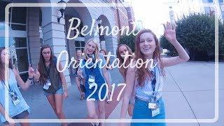 Download BELMONT UNIVERSITY ORIENTATION 2017 Video