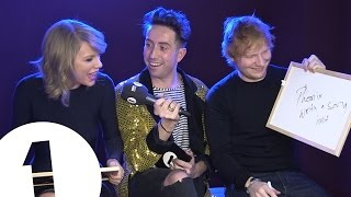 Download Ed Sheeran and Taylor Swift play Eds or Taylz? Video