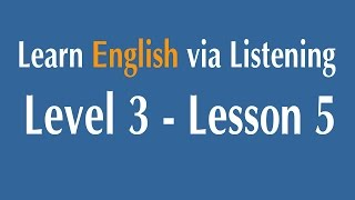 Download Learn English via Listening Level 3 - Lesson 5 - Two Great Artists : Leonardo and Michelangelo Video