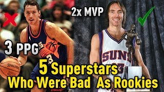 Download 5 NBA Superstars That Had BAD ROOKIE Seasons! Video