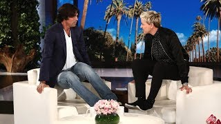 Download Ellen Chats with Argentine Polo Star Nacho Figueras Video
