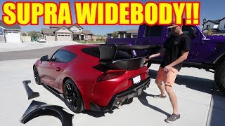 Download Widebody Kit for my Toyota Supra!! Video