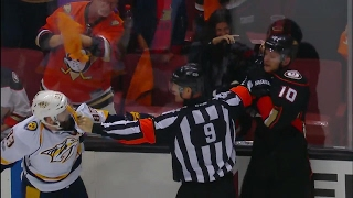 Download Ducks & Predators' tensions boil over to end Game 5 with fisticuffs Video