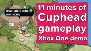 Download 11 minutes of Cuphead gameplay - Xbox One demo (2016) Video