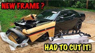 Download Rebuilding A Wrecked 2017 Dodge Hellcat Part 2 Video