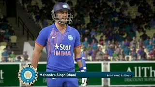 Download Don Bradman Cricket 17 India Vs England 2017 1st One Day (Msd is Back) Video