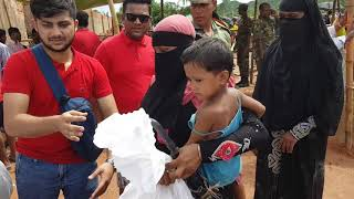 Download Some supplies for rohingya refugees Video