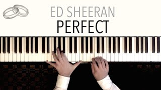 Download Ed Sheeran - Perfect (Wedding Version) featuring Pachelbel's Canon | Piano Cover Video