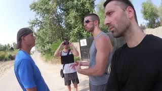 Download Squatting Slav TV - Visiting a Migrant Camp Video