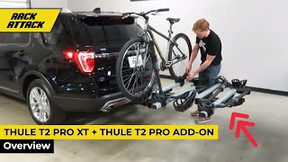Download Thule T2 Pro XT Platform 2 Bike Rack with 2 Bike Add On Overview Video