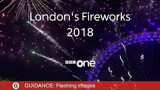 Download London Fireworks 2018 LIVE - New Year's Eve Fireworks: 2017 / 2018 - BBC One Video