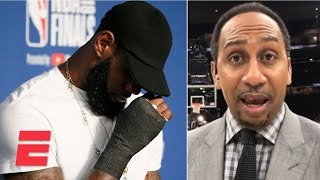 Download Stephen A. on LeBron James: 'I don't want to hear no more comparisons' after Game 4 | ESPN Video