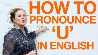 Download Vowel Pronunciation - u (uh/oo) Video