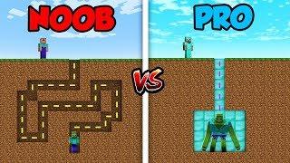 Download Minecraft NOOB vs. PRO: ZOMBIE MAZE in Minecraft! Video