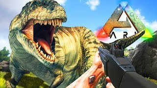 Download TAMING THE 2ND LARGEST DINO!! ARK: SURVIVAL EVOLVED Video