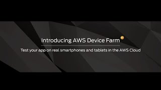 Download Introducing AWS Device Farm Video