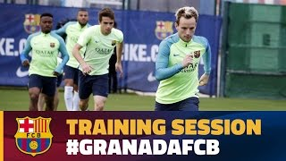 Download Return to training along with Rakitic and Mascherano Video