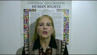 Download Dominga Ovando, Argentina, reading article 7 of the UDHR in Spanish Video