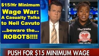 Download Neil Cavuto - $15 Minimum Wage Warrior (Casualty); Robots Replacing Workers Video