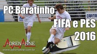 Download PC Baratinho para Jogar Adrenaline bate uma bolinha com FIFA 16 e PES 2016 Video