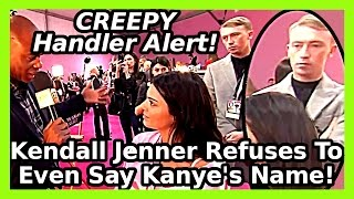 Download Kendall Jenner Refuses To Say Kanye West Name After Breakdown! Video