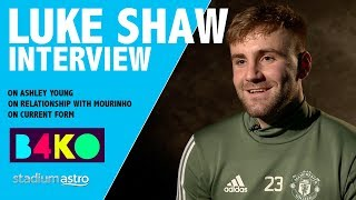 Download Luke Shaw on his relationship with Mourinho | B4KO Exclusive | Astro SuperSport Video