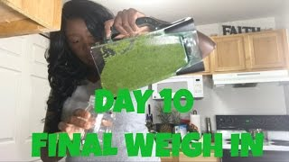 Download DID I LOSE WEIGHT ON THE 10 DAY GREEN SMOOTHIE CLEANSE? BEFORE AND AFTER RESULTS! Video