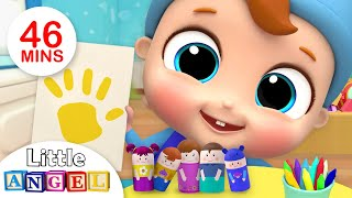 Download Finger Family Song with Colors +More Nursery Rhymes by Little Angel Video
