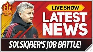 Download Solskjaer's Man Utd Job Battle! Man Utd News Now Video