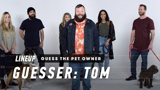 Download Match the Dog to Their Owner (Tom) | Lineup | Cut Video