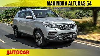 Download Mahindra Alturas G4 - the new Rexton | First India Drive Review | Autocar India Video