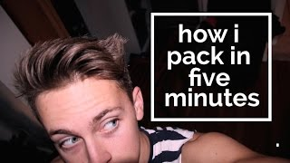 Download How to Pack in 5 Minutes Video